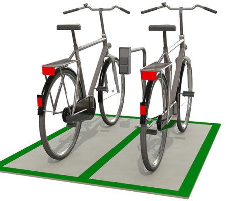 Laddstation cykelruta