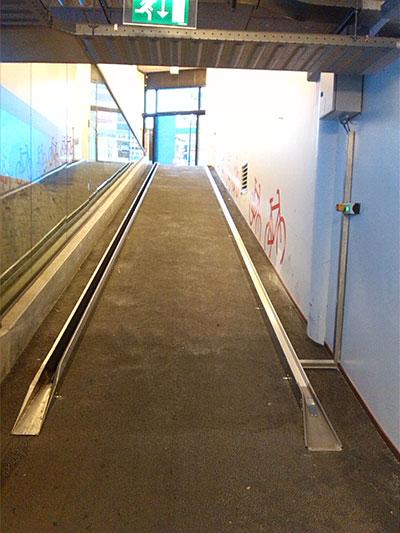 Transportbana-sluttning