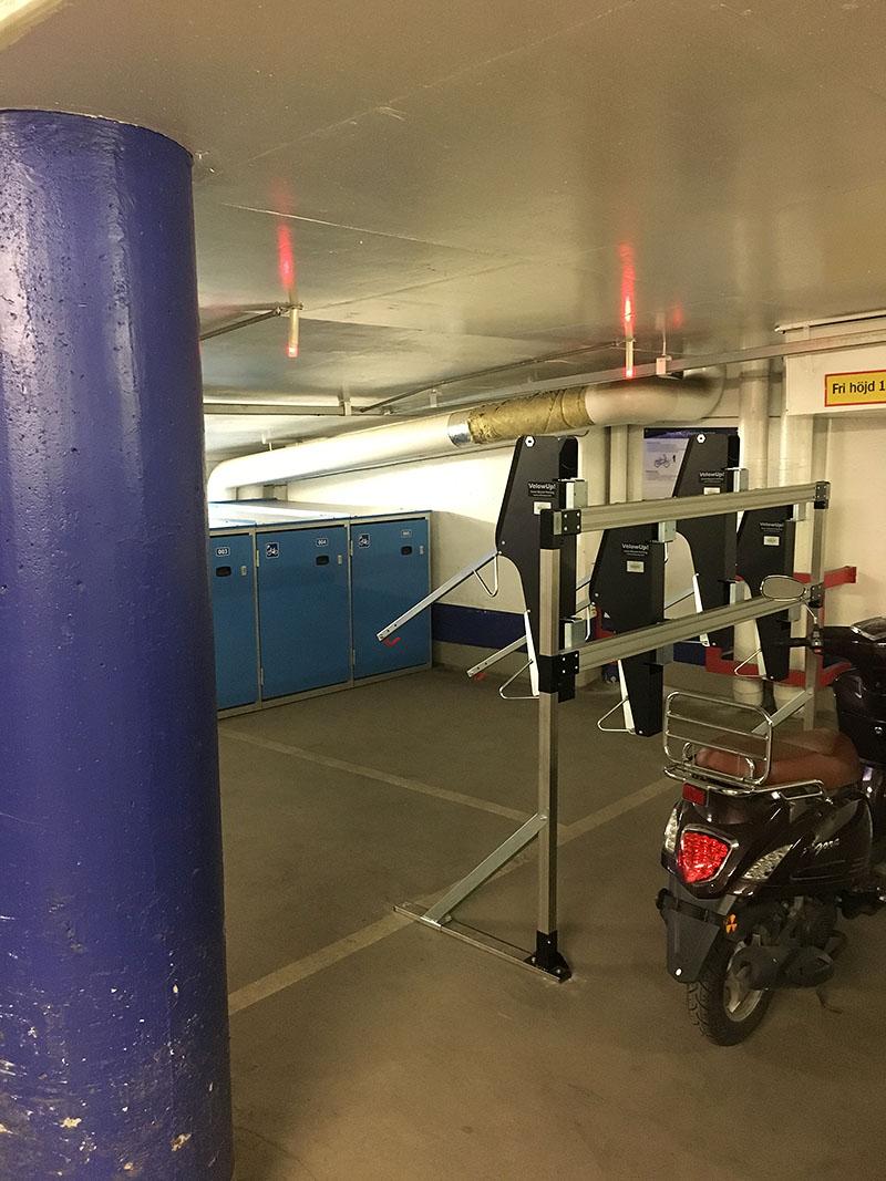 Stockholm parkering, David Bagare