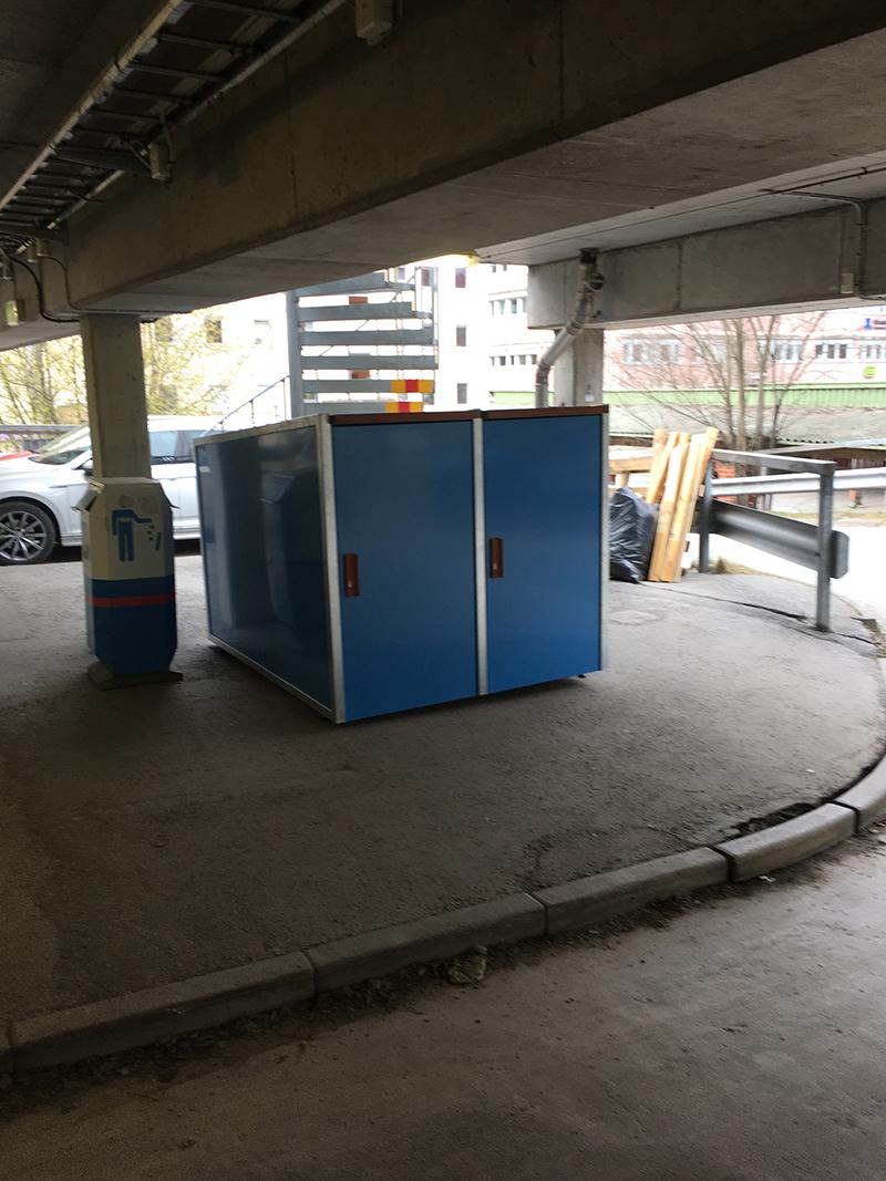 Stockholm parkeringen, Brommaplan boxar