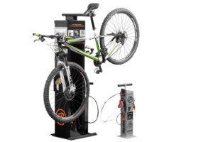 Servicestation för cyklar