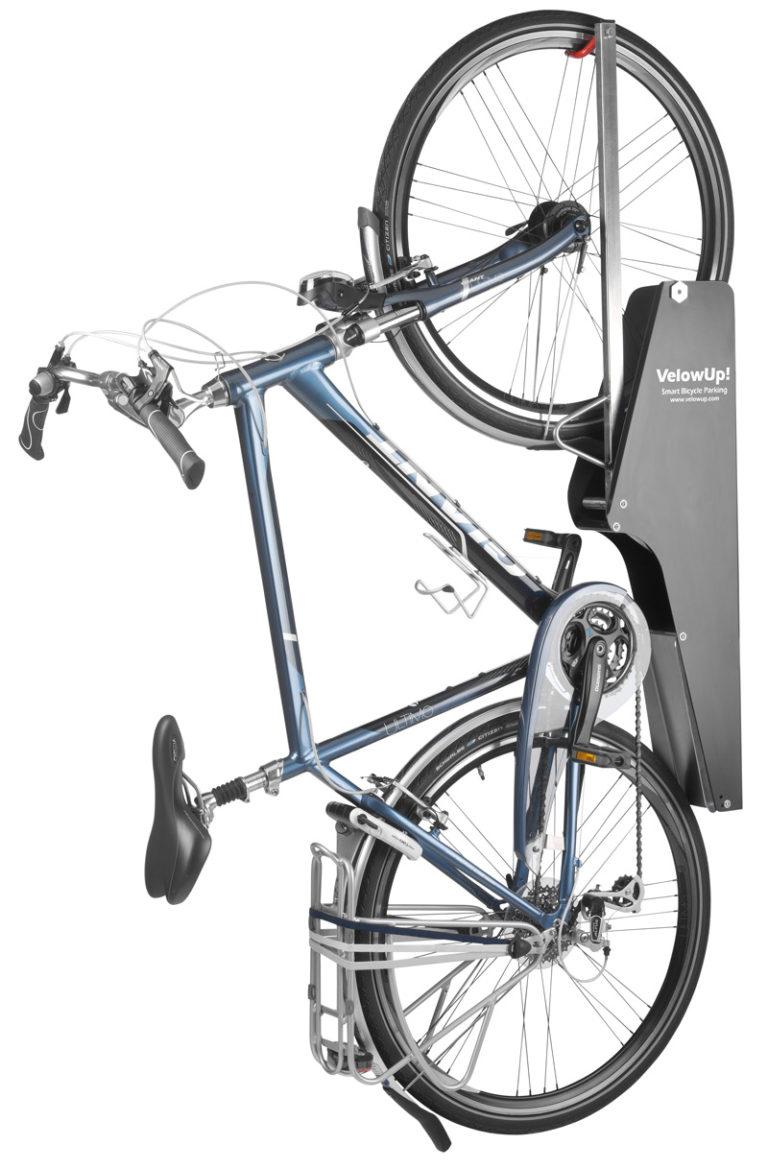 Vertikal cykelparkering