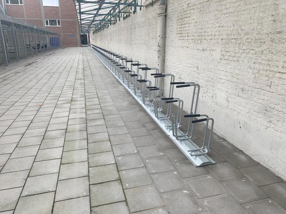Cykelparkering Peron